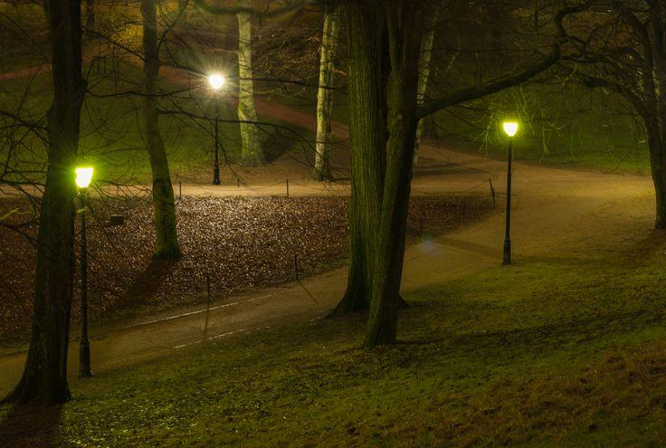 Peace at the castle park.