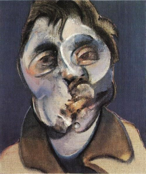Francis Bacon, self-portrait, 1969