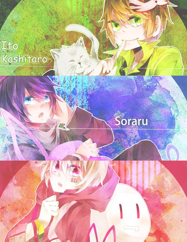 Itou Kashitarou, Soraru, and Mafumafu