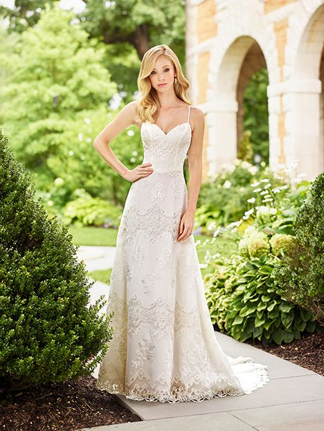 118155 Dress Slim A Line Sweetheart Spaghetti Straps Sleeveless From Enchanting By Mon Cheri 2018 As Seen On Dressfinder Ca Click For Similar