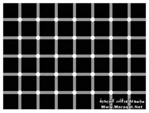 Zoek de zwarte stip