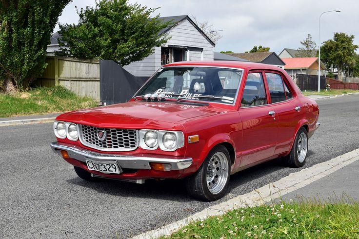 https://flic.kr/p/E7ww5Y | 1974 Mazda RX3 | The Cars of Christchurch, New Zealand