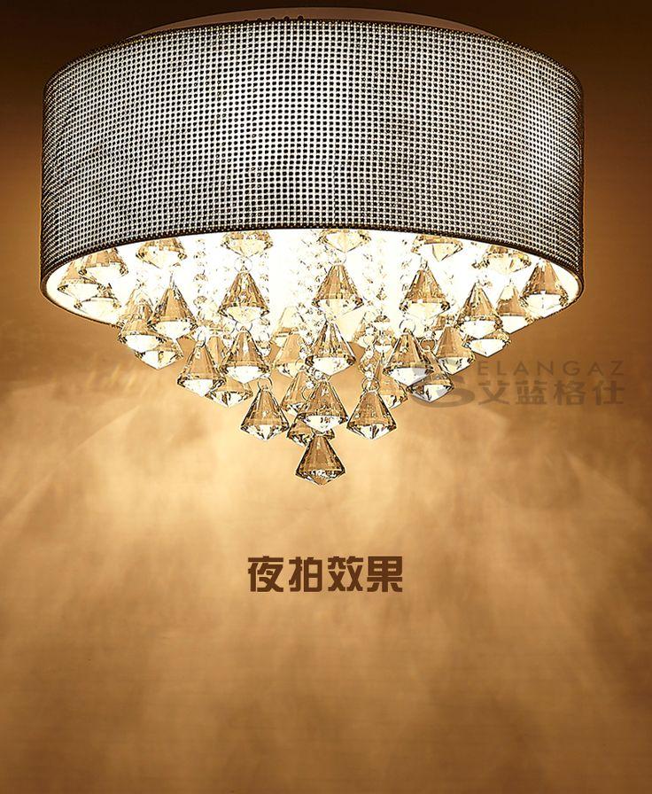 Роскошный алмаз! LED хрустальной люстры современный минималистский личности Джейн европейской спальни гостиной столовой потолок -tmall.com Lynx