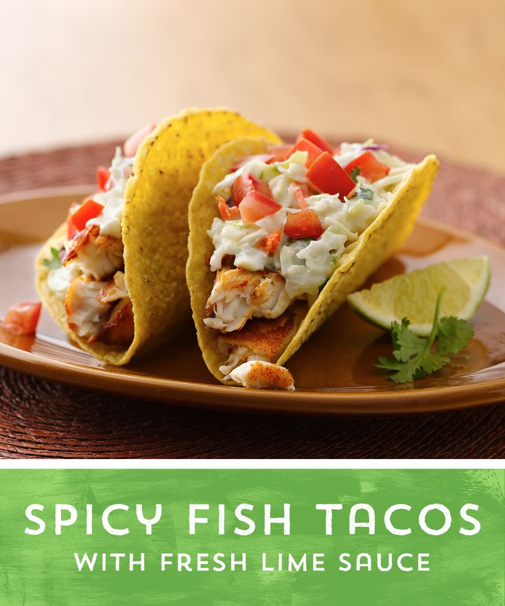 Spicy fish tacos with fresh lime sauce recipe coleslaw for Sauces for fish tacos