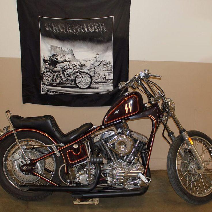 David Mann Ghost Rider Bike Davidmann Ghostrider