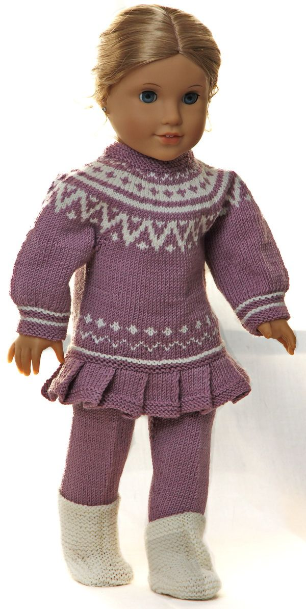 Knit And Crochet Patterns For 18 Inch Dolls : 2088 best images about Knitting & Crochet for 18 inch dolls on Pinterest ...