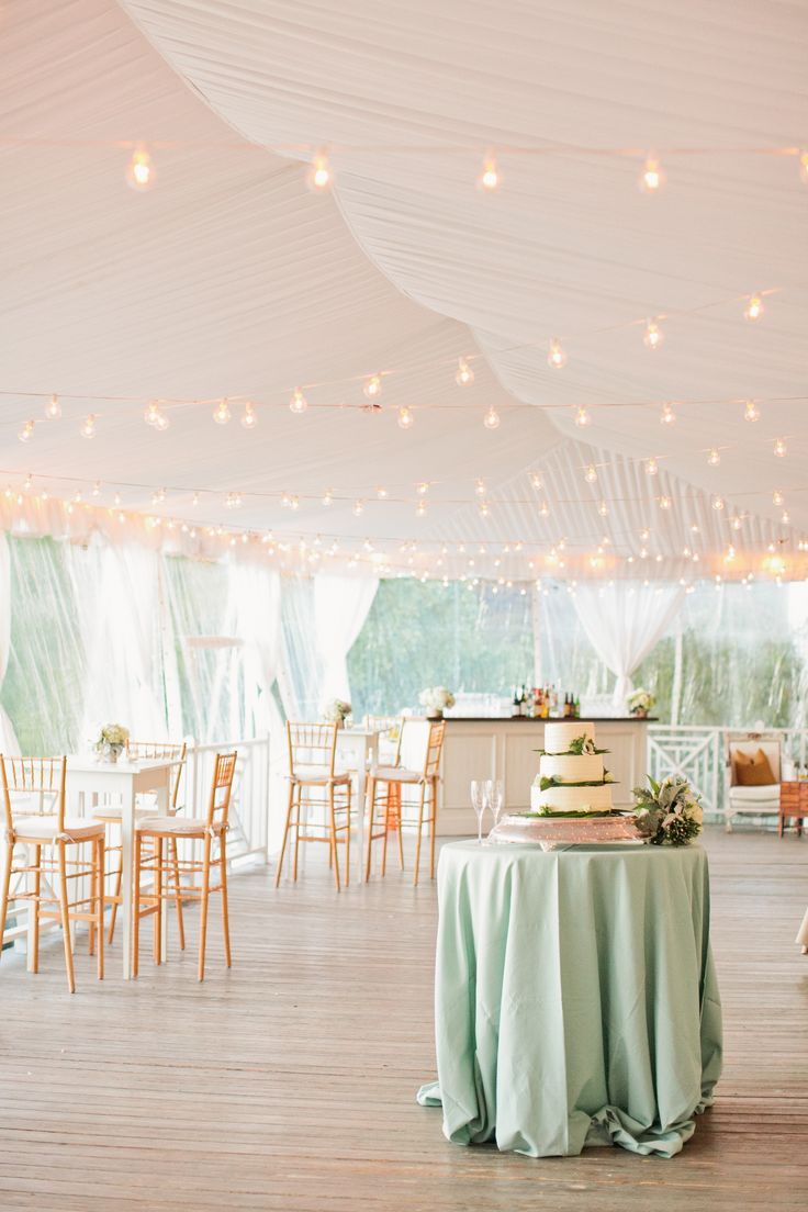 #lighting, #cake-table, #tents  Photography: Adam Barnes Fine Art Photography - adambarnes.com  Read More: http://www.stylemepretty.com/2014/10/13/intimate-southern-wedding-dressed-in-neautrals/