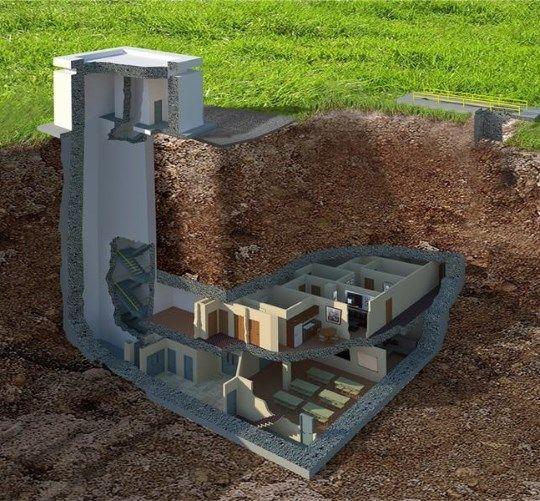 Por dentro de um incrível bunker nuclear de luxo nos EUA