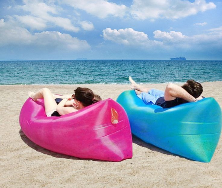 awesome Inflatable Air Sofa Air Bed Waterproof Sleeping Bag Camping Beach Sofa Lounger Bed High Quality Lazy Bags Undertake 200kgs