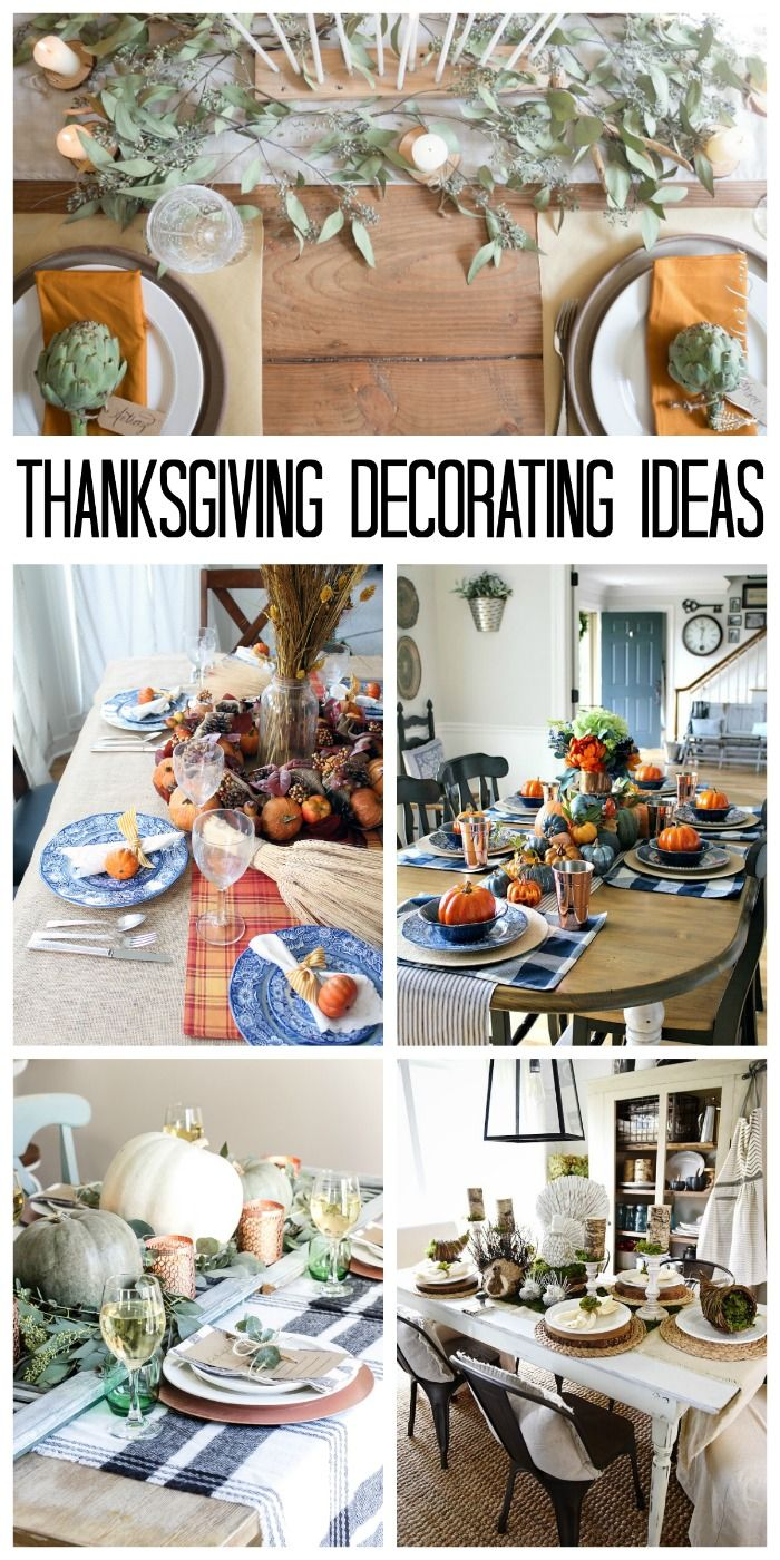 Thanksgiving Decorating Ideas for Your Holiday Table