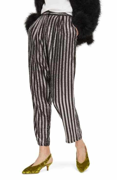 Topshop Shopping Pinterest Mensy Trousers Stripe Sequin qwOBqP7