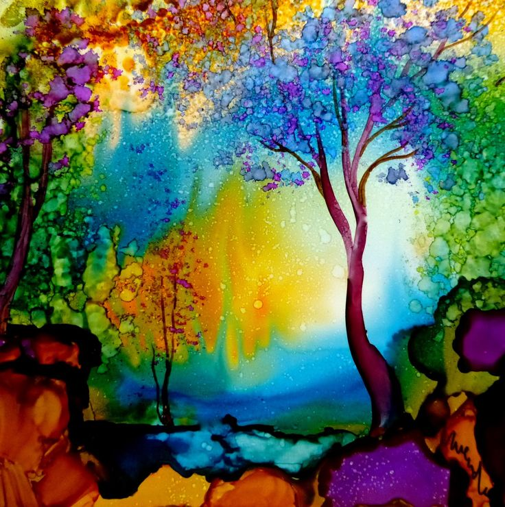 74 best art alcohol ink images on pinterest alcohol for Painting while drinking wine