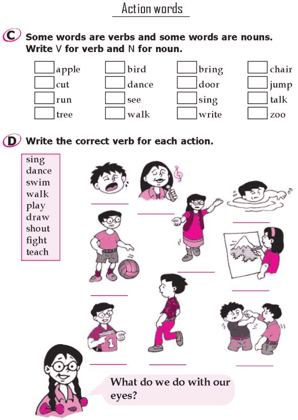 Action Verbs Awesome 22 Best Action Words Images On Pinterest  English Grammar English .