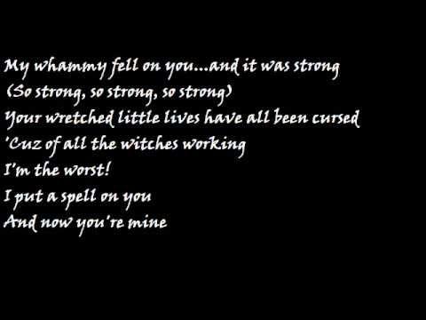 Hocus Pocus I Put A Spell On You With Lyrics Wmv Hocus Pocus Pinterest Watches And Lyrics