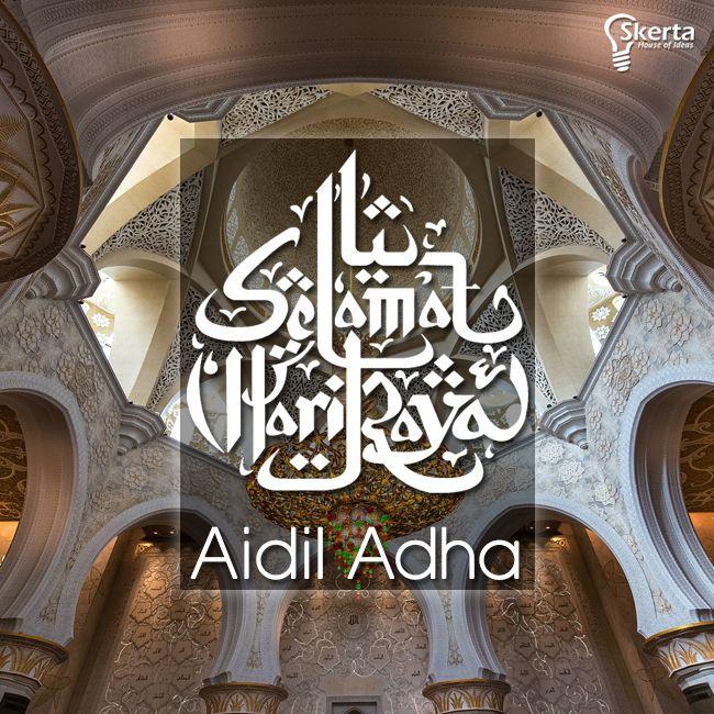 Selamat merayakan Hari Raya Idul Adha, semoga hari raya kali ini membawa kedamaian dan makna berbagi bagi seluruh dunia. #iduladha
