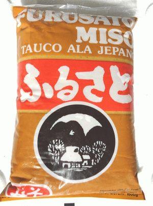 Tauco jepang - Furusato Miso Netto: 1KG Berat setelah packing: 1,1 - 1,2 KG