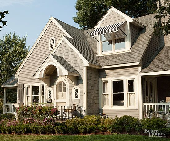 Cape cod style home ideas front entry and porticos for Landscaping for cape cod style houses