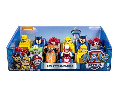 Paw Patrol rescue racers;Featured in Nickelodeons hit Paw Patrol;Pull-back vehicle;Action figure;NOTE: You can not choose the model by purchasing this producteach order includes a single piece...