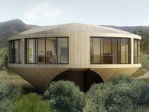 MOCOVOTE: Round House by Johnston Marklee for Solo Houses