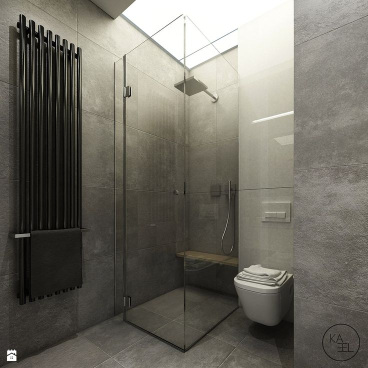 Łazienka - Styl Minimalistyczny - KAEEL.GROUP | ARCHITEKCI