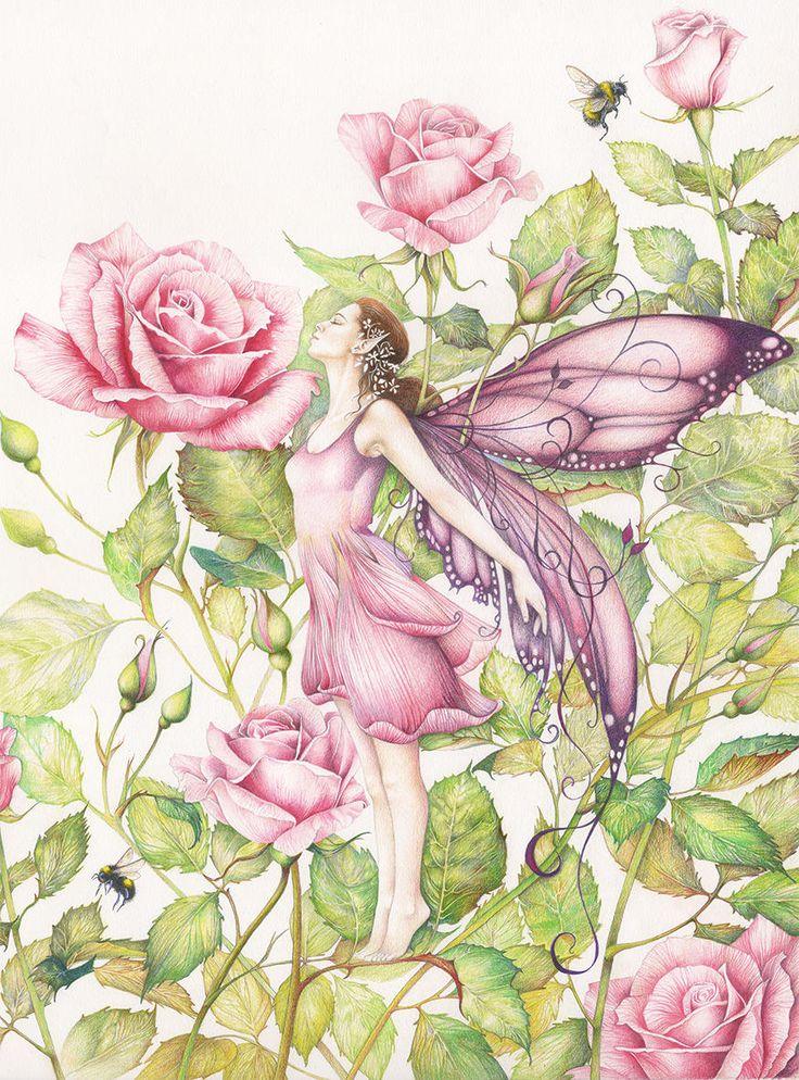 Картинки цветные феи