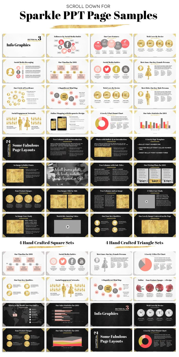 Savvy Collection PPT Template Bundle by Blixa 6 Studios on Creative Market