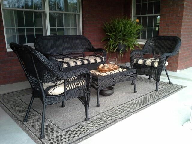 Patio furniture from garden ridge