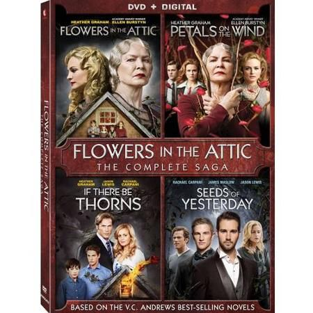 Flowers In The Attic / Petals On The Wind / If There Be Thorns / Seeds Of Yesterday - 4 Pack (DVD + Digital Copy) (Widescreen) - Walmart.com
