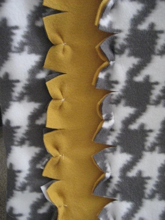 new ways to make fleece blankets