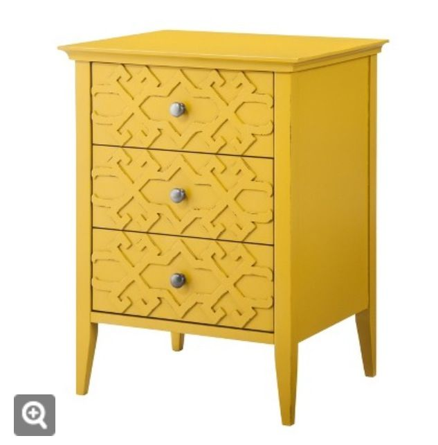 Yellow End Table Target