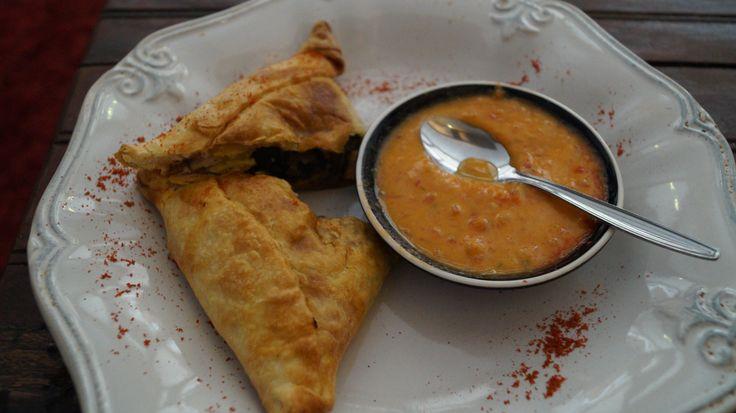 Empanadas, en Arte Gárgola , la muestra es de Prieta .