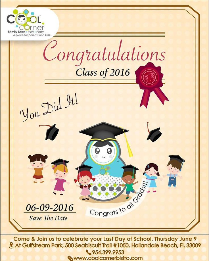 Today Come & Join Us To Celebrate Last Day Of School!!!! Congrats To All Grads!!! #CoolCornerBistro