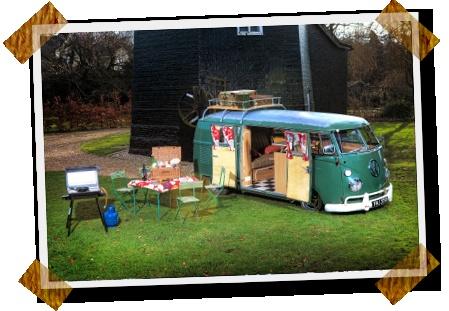 The Vintage Wandering Company, VW campervan hire, campervan rental, classic camper van hire, Histon, Cambridge, Cambridgeshire