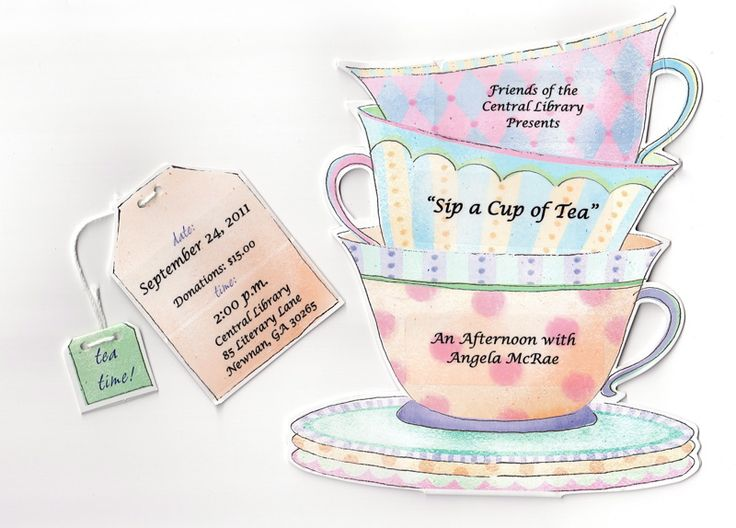 10 best afternoon tea invites images on Pinterest Afternoon tea