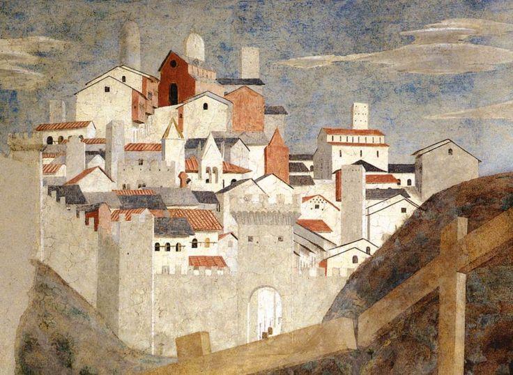 Piero della Francesca - Storie della Vera Croce: Ritrovamento delle tre croci e…