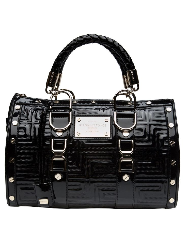 I wish I could own this Versace purse.... Oh wait! I do!!! My boyfriend just bought it for me.