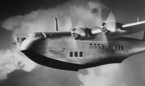 early passenger planes images   Celluloid Librarian: Early Passenger Air Travel: Foreign Correspondent
