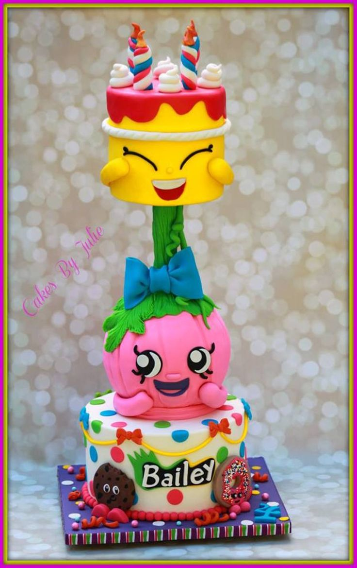17 Best Images About Shopkins Cake On Pinterest