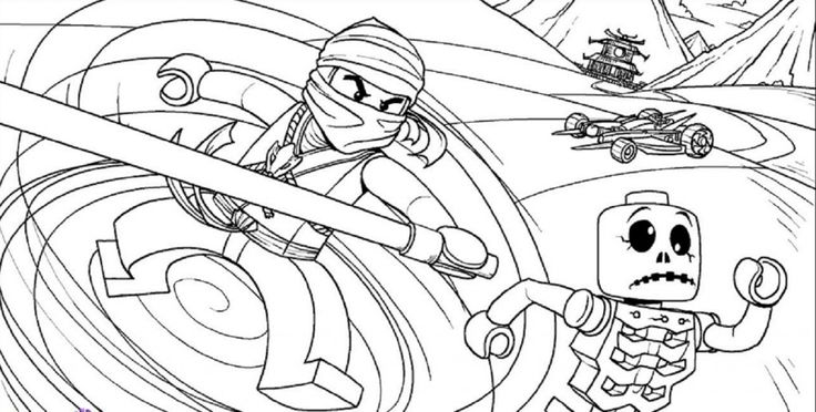 lego coloring pages to print ninjago