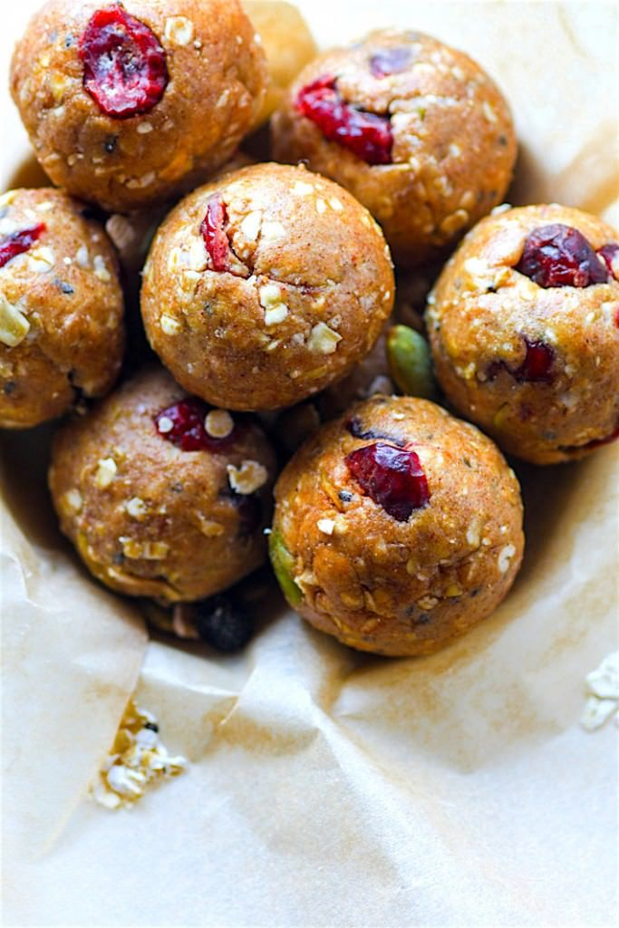 No Bake Gluten Free Muesli Energy Bites Recipe! This gluten free muesli bite recipe is super simple, vegan friendly, and a must make for healthy snacking.
