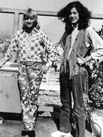 1969 Screaming Lord Sutch and Jimmy Page