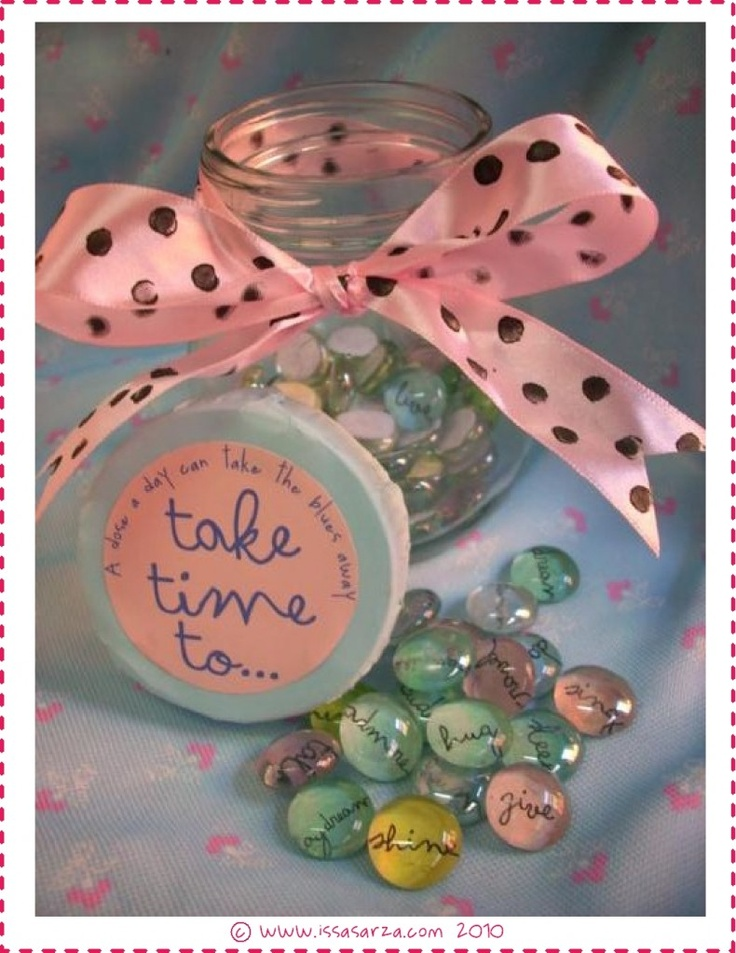 """Take Time To"" Jar ... yes, I CAN!"