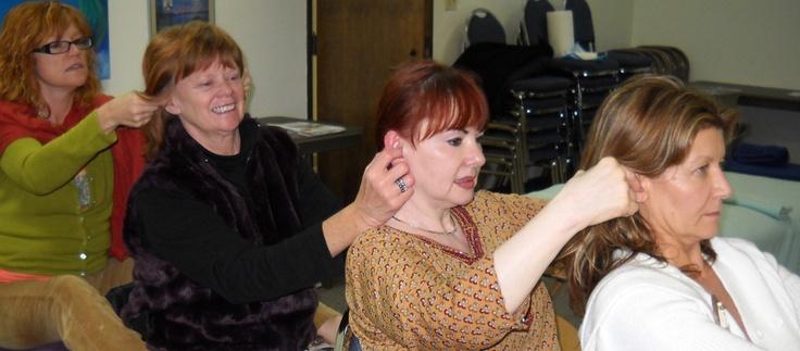 Ear Reflexology Workshop #Ear Reflexology #Reflexology Certificate Course http://www.americanacademyofreflexology.com