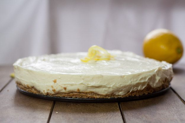 No-Bake Lemon Cheesecake | 21 Easy And Delicious No-Bake Cheesecakes