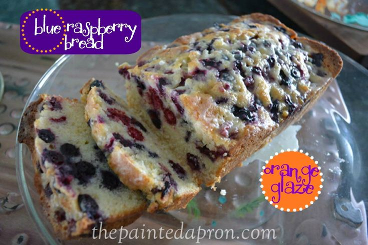 It's nice to have a coffee cake or bread on hand for an easy weekend breakfast.  I made this Blue Raspberry Bread so the fishermen could grab a slice before they headed out on the high seas for the...