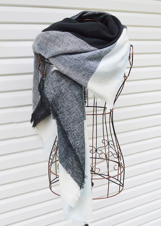 The Maison Checked Scarf