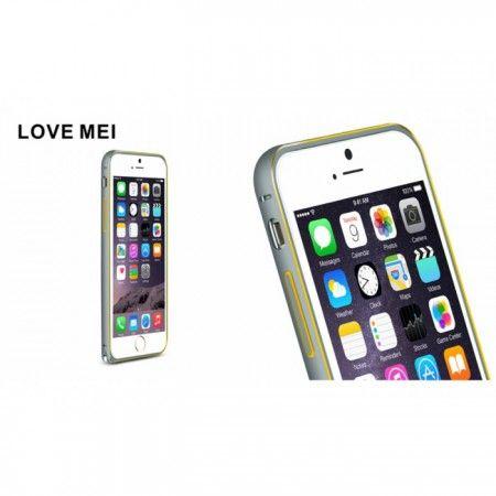 Love Mei Metal Bumper Case iPhone 6 [Harga: Rp 140.000]