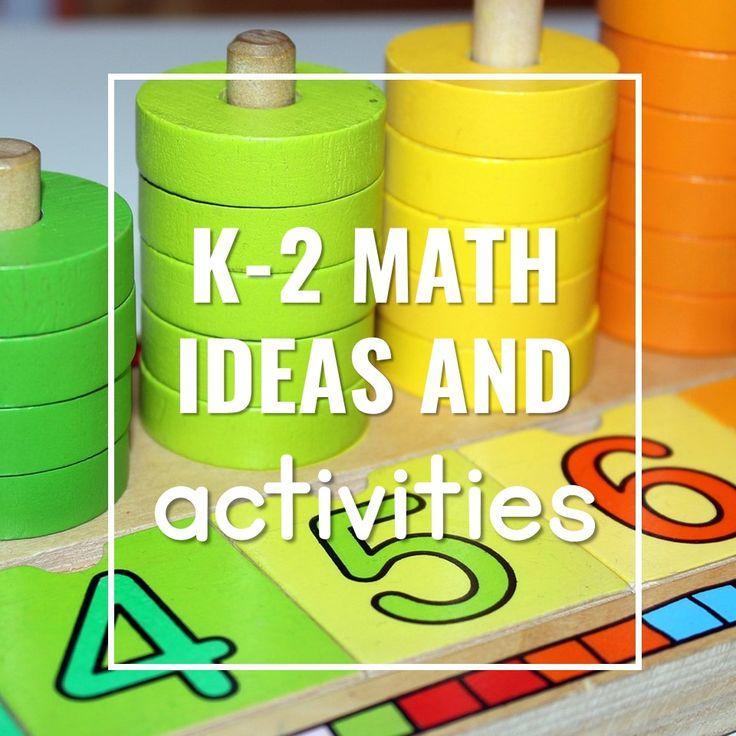 168 best K-2 Math Ideas and Activities images on Pinterest | School ...