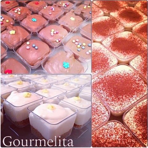 Gourmelita: Tiramisu, Lemon and Chocolate Mousse for Food for Good