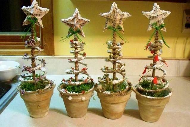 Christmas springs, Christmas springs!  Sue's Springy spring pots